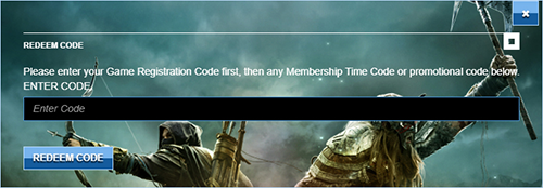 Redeem Elder Scrolls Online Activation Key Prompt