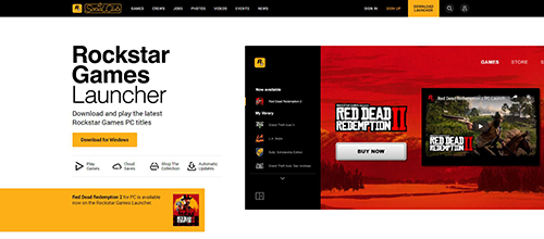Download Rockstar Launcher Page