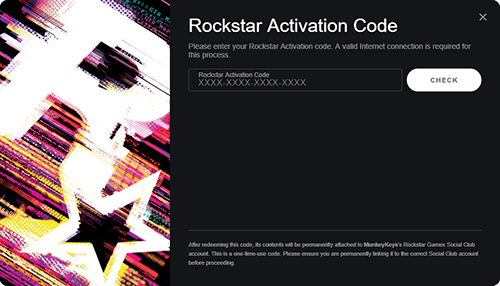 Rockstar Launcher Code Activation Prompt